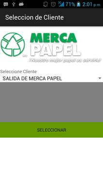Embarques Merca Papel screenshot 1