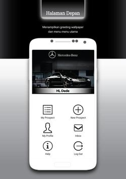 Mercedes-Benz Indonesia CRM poster
