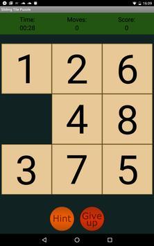 Sliding Tile Puzzle apk screenshot