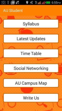 AU Student Anna university screenshot 1