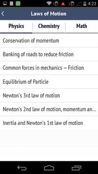 IIT JEE - Formulae & Notes screenshot 3