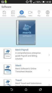 Merit Software apk screenshot