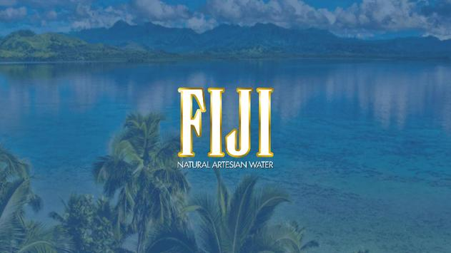 FIJI Water Experience poster