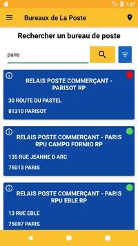 Bureaux de Poste screenshot 1