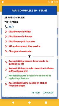Bureaux de Poste screenshot 3