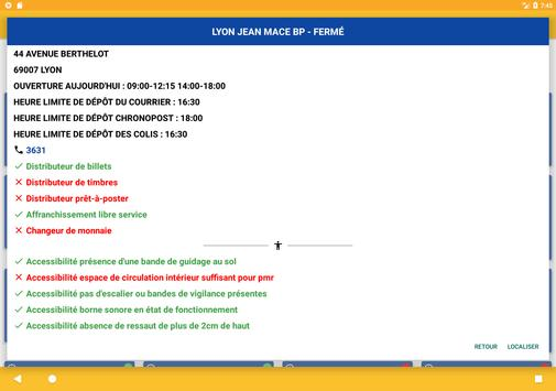 Bureaux de La Poste - Localisation, services apk screenshot