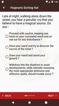 The Sorting hat & Patronus quiz from Pottermore screenshot 11