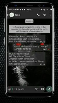 WA Black New poster
