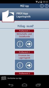 PRÜF.App: Lagerlogistik poster