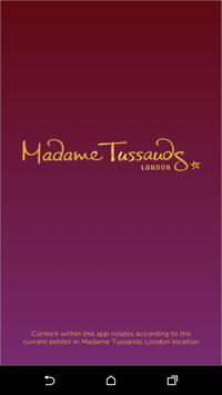 Madame Tussauds London poster