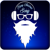 Merry christmas : mp3 music icon