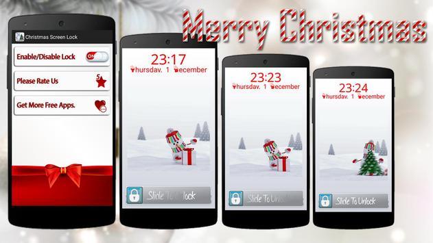 Christmas Screen Lock poster