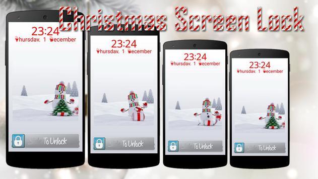 Christmas Screen Lock screenshot 1