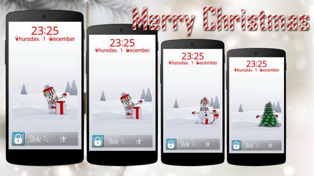 Christmas Screen Lock screenshot 2