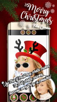 Merry Christmas Face Camera screenshot 3