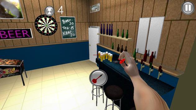 Drunk Darts Shot Match 3D poster