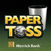 Merrick Bank Paper Toss 아이콘