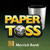 Merrick Bank Paper Toss icon