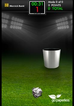 Merrick Bank Paper Toss apk screenshot