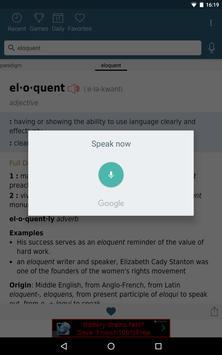 Dictionary - Merriam-Webster captura de pantalla de la apk