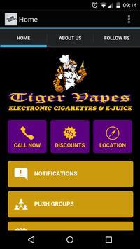 Tiger Vapes screenshot 2