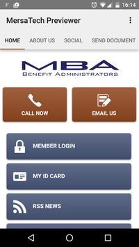 MBA BENEFIT ADMINISTRATORS poster
