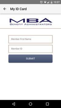 MBA BENEFIT ADMINISTRATORS screenshot 4