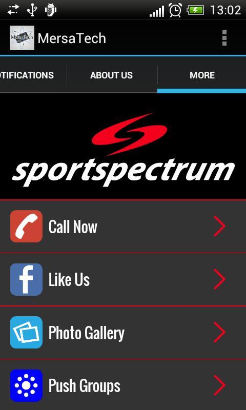 1879bbeddefc1 Sportspectrum poster Sportspectrum screenshot 1 Sportspectrum screenshot 2  Sportspectrum screenshot 3