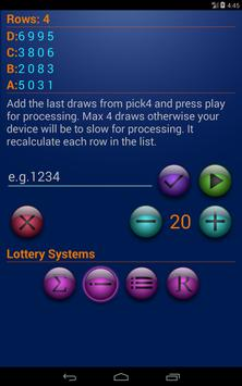 Systems for Pick4 lottery screenshot 10