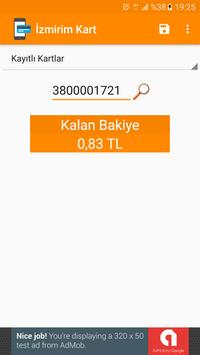 Kart Bakiyem İzmir apk screenshot