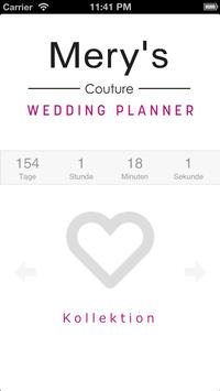 Mery's Couture Wedding Planner poster