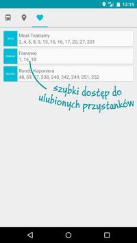 Mój Dojazd PEKA Poznań apk screenshot