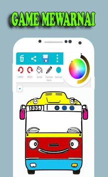 New Game Coloring Tayo Bus screenshot 1