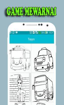 New Game Coloring Tayo Bus screenshot 2