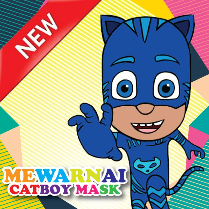 Mewarnai Catboy Mask For Android Apk Download