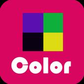 颜色泛滥 icon