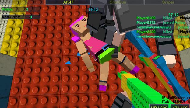 Pixel Girls Combat screenshot 1