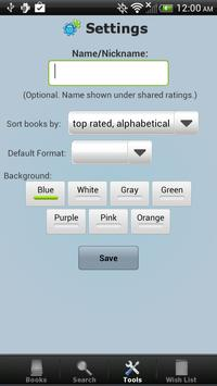 Book Collection & Catalog apk screenshot
