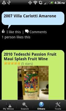 Wine - List, Ratings & Cellar apk screenshot