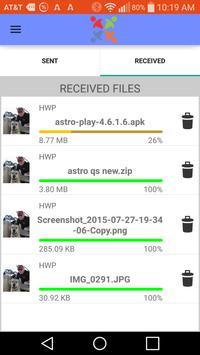 ASTRO QuickSend apk screenshot