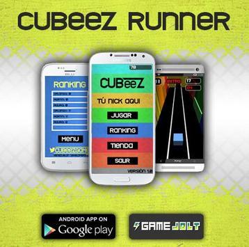Cubeez Runner poster