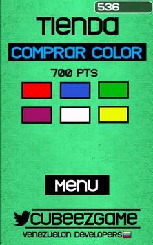 Cubeez Runner apk screenshot