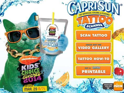 Capri Sun Tattoo screenshot 2