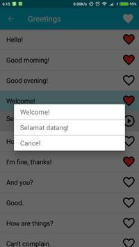Learn Malay screenshot 3