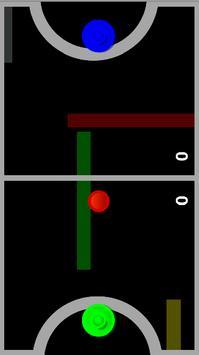 Glow Air Hockey screenshot 2