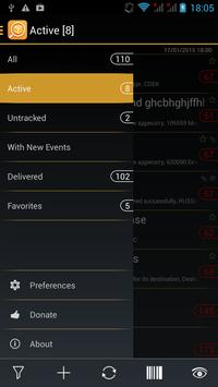 TrackChecker Mobile apk screenshot