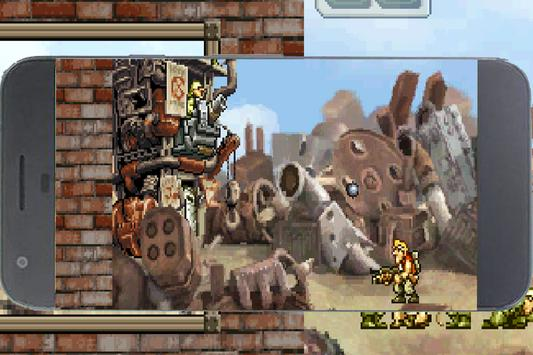 Metal Rambo Soldier Slug Attack apk screenshot