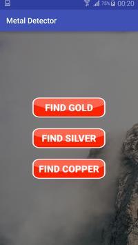 Metal Pro Detector hidden Simulator poster