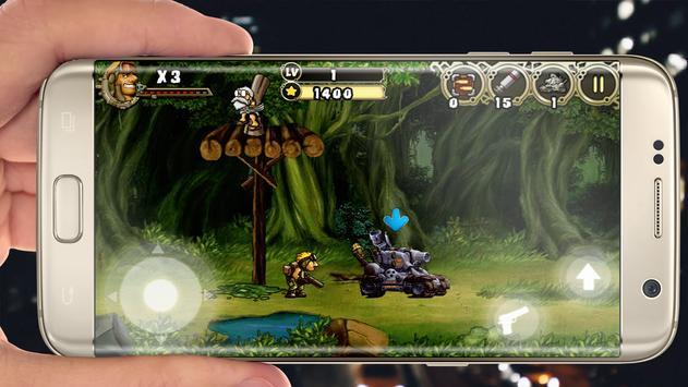 Metal R_ambo adventure apk screenshot