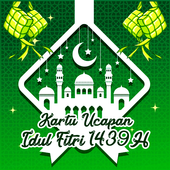 Kartu Ucapan Idul Fitri 2018 icon